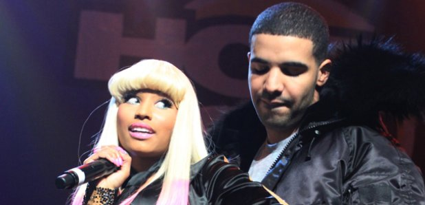 Nicki Minaj and Drake performing live