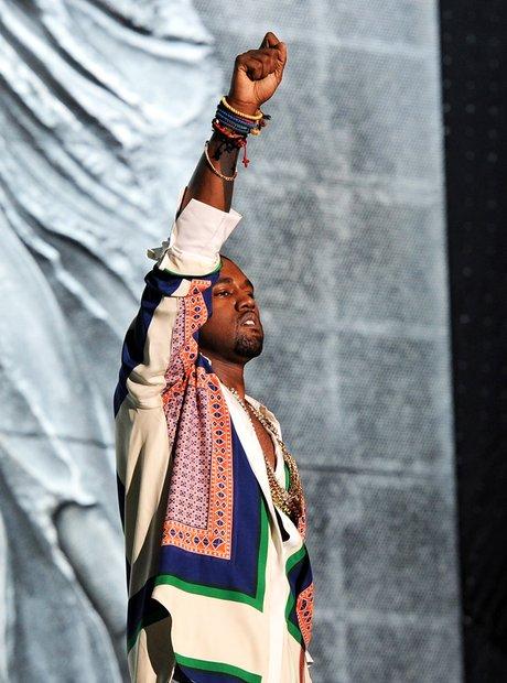 Kanye West Coachella Valley Music & Arts Festival