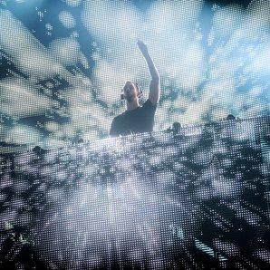 Calvin Harris on stage