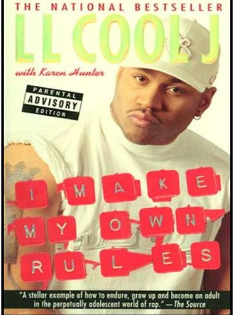 LL Cool J I Make My Own Rules book