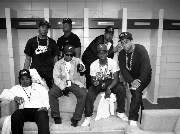 N.W.A and Ice Cuhbe feud
