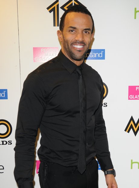 Craig David on red carpet at Mobo Awards 2013