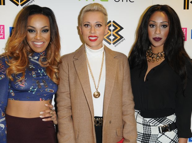 Stooshe red carpet at Mobo Awards 2013