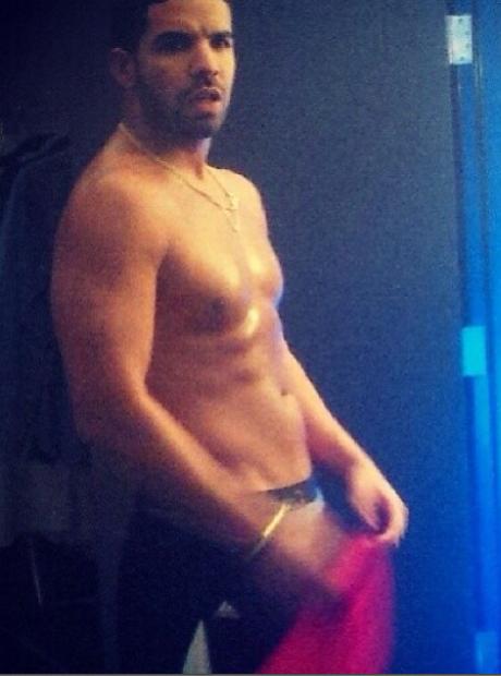 Drake topless