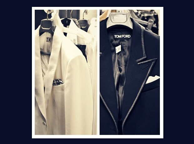 Justin Timberlake Tom Ford suits in wardrobe