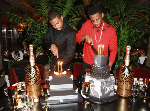 Trey Songz and Fabolous celebrate their birthday