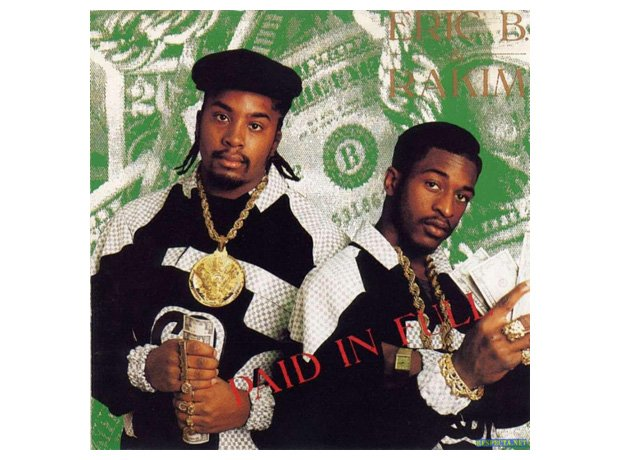 Eric B. & Rakim, 'Paid In Full' album cover artwork