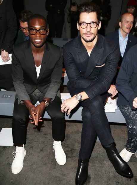 Tinie Tempah and David Gandy