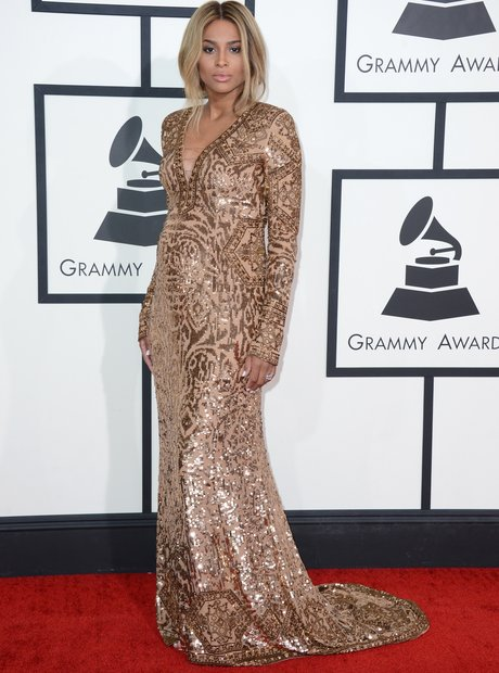 Ciara at the Grammy Awards 2014
