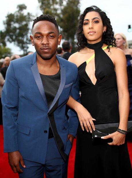 Kendrick Lamar at the Grammy Awards