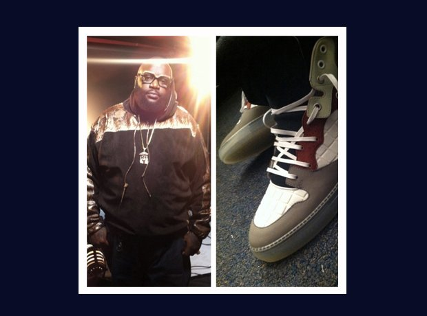 Rick Ross Instagram trainers