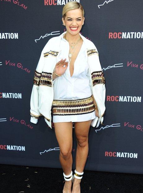 Rita Ora Pre-Grammy Awards 2014 Party