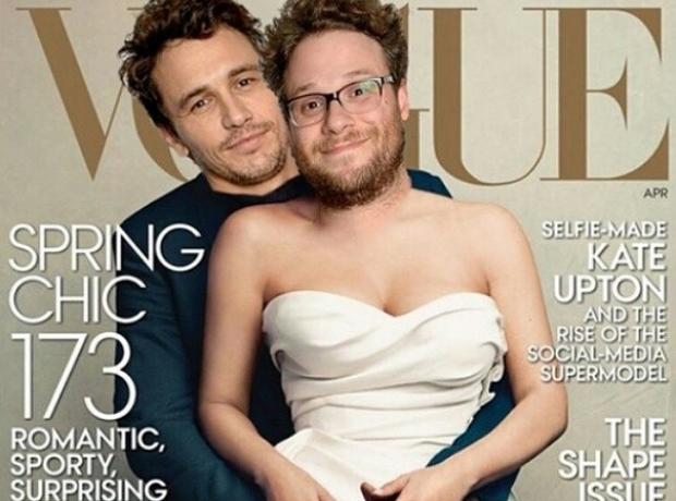 Seth Rogan James Franco Vogue Spoof
