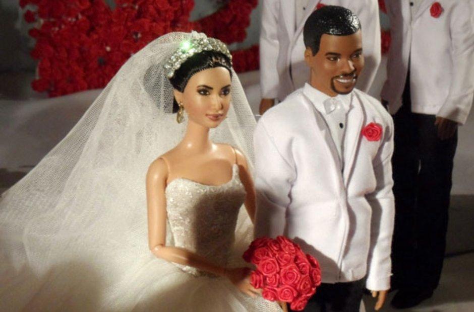 Kim and Kanye Barbies