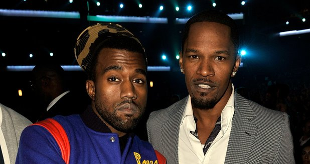Jamie Foxx And Kanye West