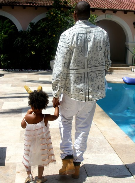 Jay Z and Blu Ivy