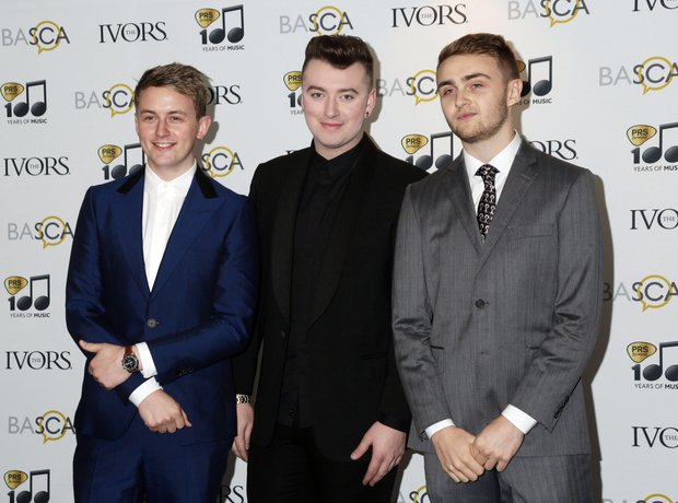 Disclosure and Sam Smith Ivor Novello Awards 2014