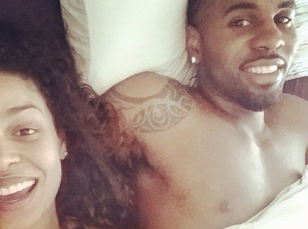Jason Derulo and Jordan Sparks Selfi