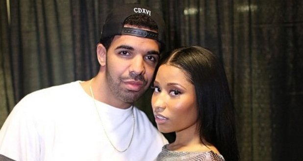 Drake And Nicki Minaj Backstage At Summer Jam