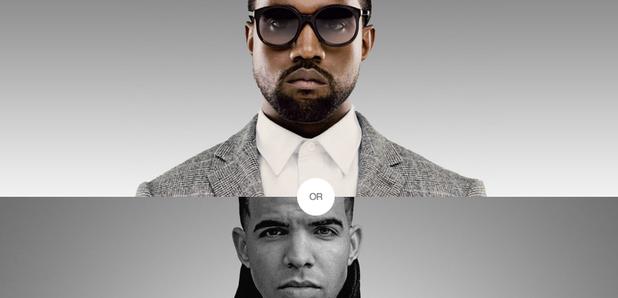 Rap test Kanye West Drake