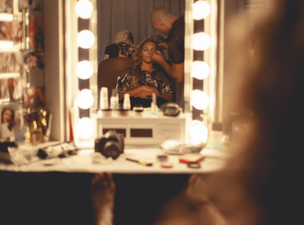 Beyonce and Jay Z Behind The Scenes On The Run Tou