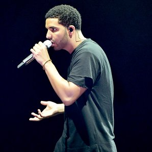 Drake performing at OVO Fest 2014