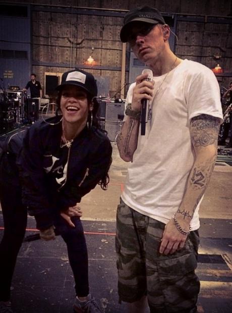 Eminem Rihanna Monster Tour Rehearsal