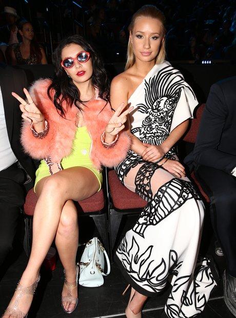 Charli XCX and Iggy Azalea at the VMAs 2014