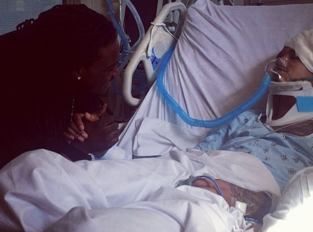 August Alsina in hospital