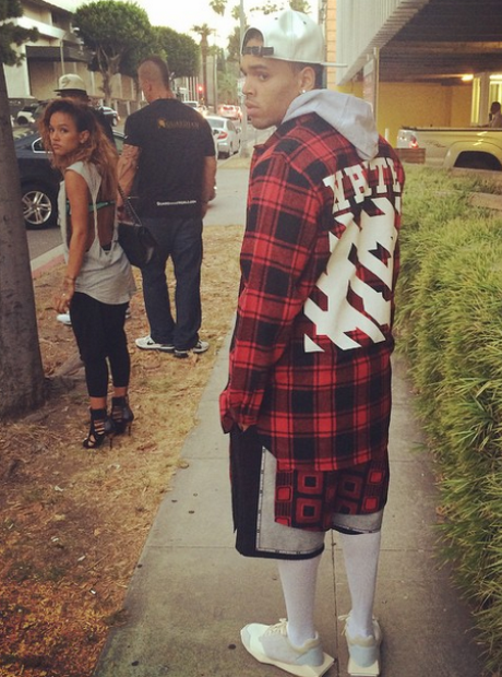 Chris Brown karrueche tran Instagram