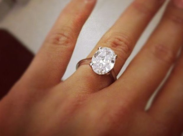 Amber Rose engagement ring