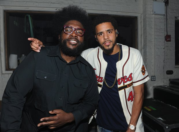 J Cole and Questlove