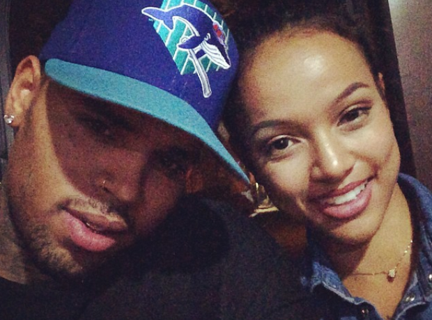 Chris Brown and girlfriend karrueche