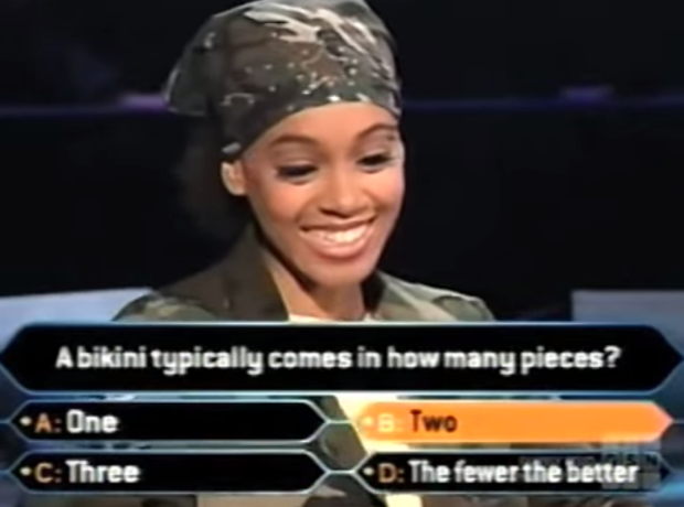 TLC Lisa Left Eye Lopes on Who Wants To Be A Milli