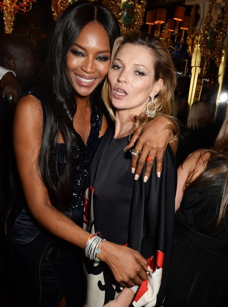 Naomi Cambell and Kate Moss Britsh Fashion Awards