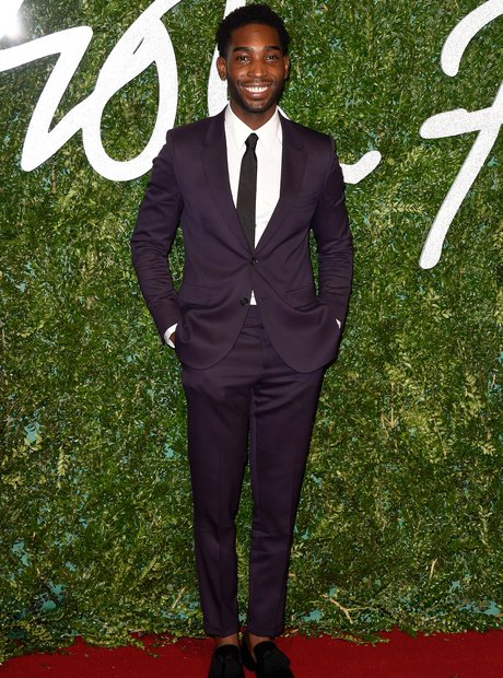 Tinie Tempah British Fashion Awards 2014