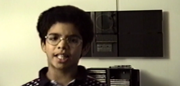 Drake as a child in short film jungle
