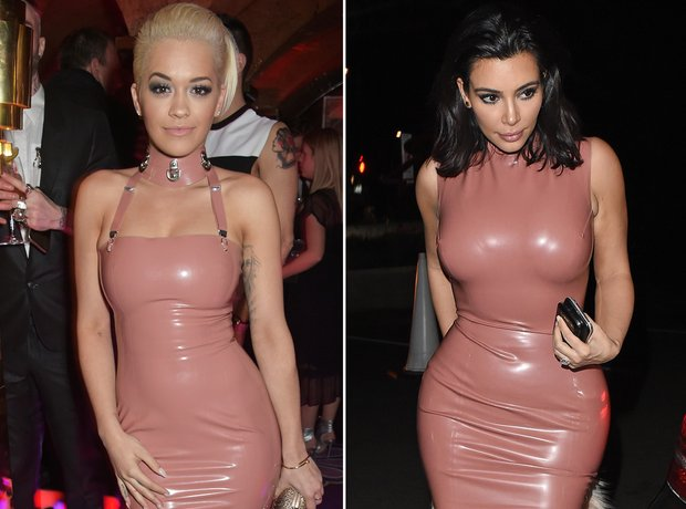 Who Wore It Best: Rita Ora and Kim Kardashian