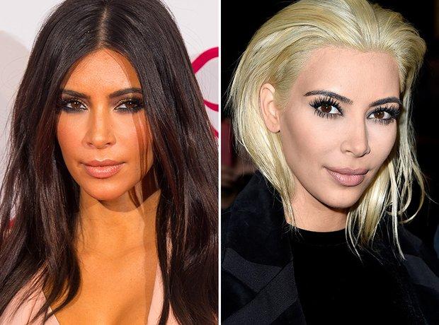 Kim Kardashian Blonde Hair