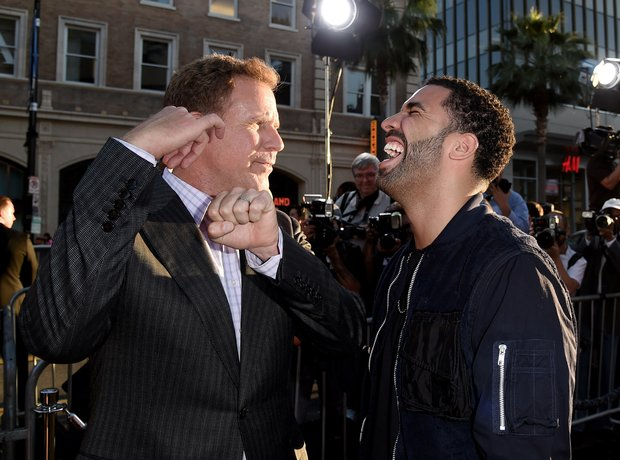 Drake and WIll Ferrell 'Get Hard' Premiere
