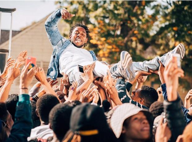 Kendrick Lamar Alright Video Shoot