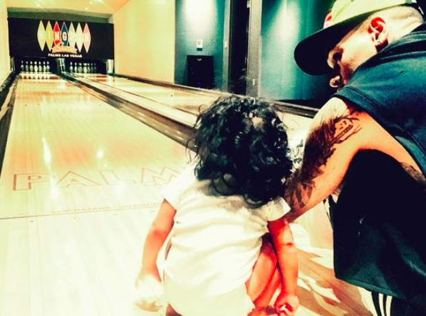 Chris Brown daughter Royalty 1st Birthday