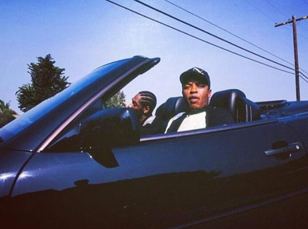 Dr Dre and Snoop Dogg