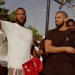 Drake and The Game in the streets of Compton