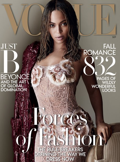 Beyonce Vogue Cover 2015