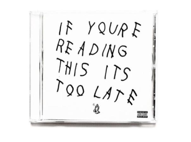 Drake album If You're Reading This Its Too Late