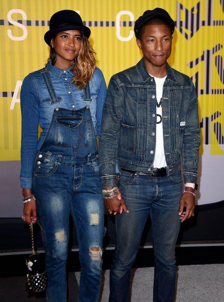 Pharrell MTV VMAs 2015