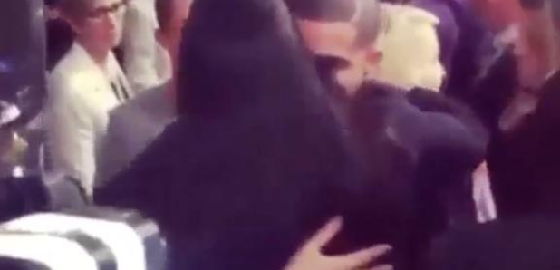 Drake Serena Williams PDA New York Fashion Week