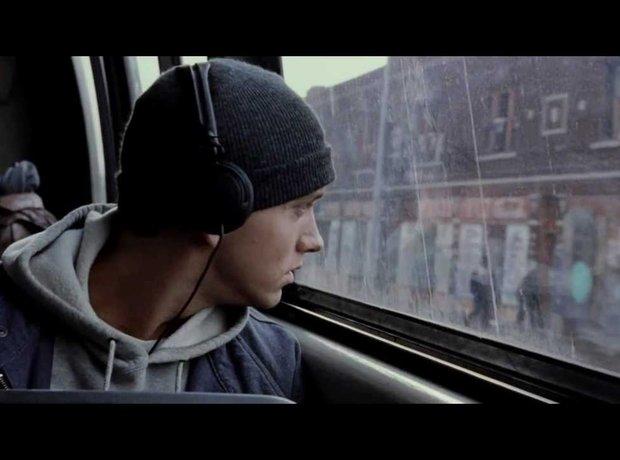 Eminem in 8 Mile