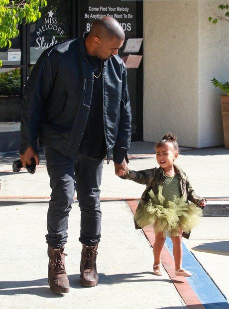 Kanye And North West Ballerina